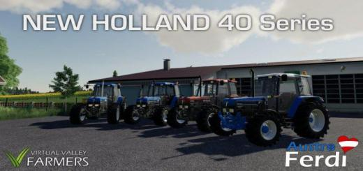 Photo of FS19 – Ford New Holland 40 Series V1