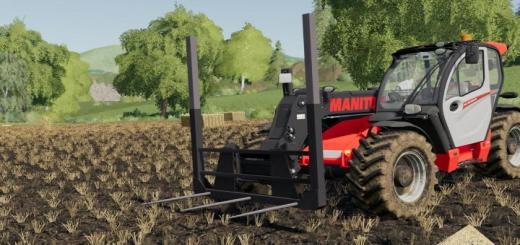 Photo of FS19 – Fourche A Balles V1