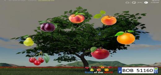 Photo of FS19 – Fruits Trees By Bob51160 V1