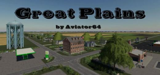 Photo of FS19 – Great Plains Map V1