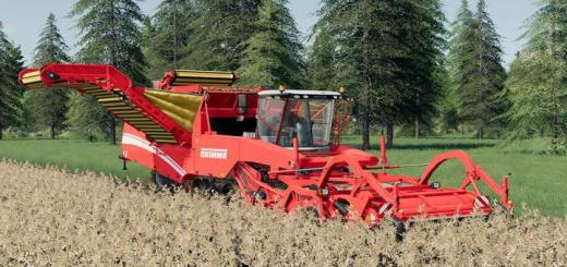 Photo of FS19 – Grimme Tectron 415 V1