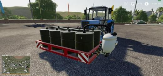 Photo of FS19 – Homemade Front Tank V1.0.1.0