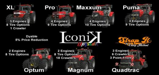 Photo of FS19 – Iconik Case Tractors V1