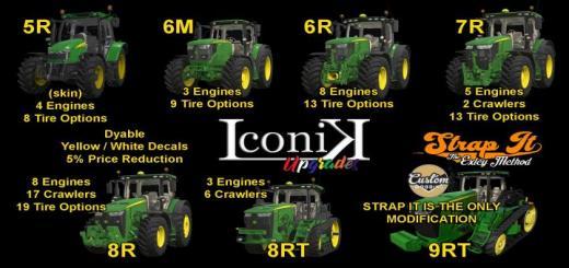 Photo of FS19 – Iconik Jd Tractors V1