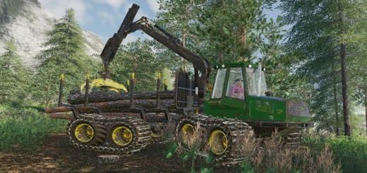 Photo of FS19 – John Deere 1110D Eco Lll V1