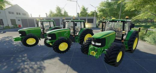 Photo of FS19 – John Deere 6X20 Series V1
