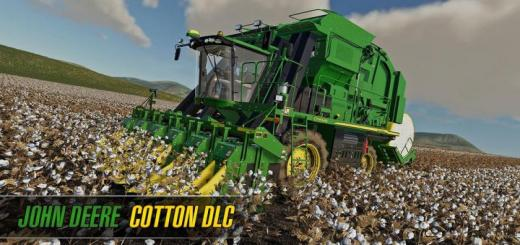 Photo of FS19 – John Deere Cotton Dlc (Download Only) V1
