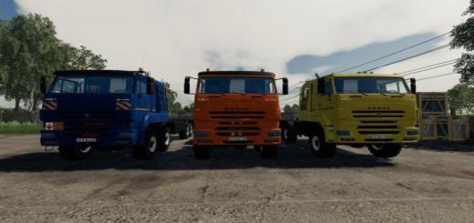 Photo of FS19 – Kamaz 65228 Pack V1.1