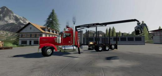 Photo of FS19 – Kenworth W900 Cab Mount V1.0.0.2