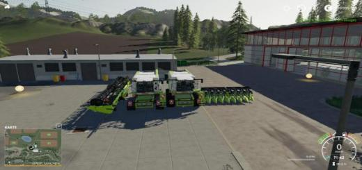 Photo of FS19 – Lexion 780 With Capacity Selection And Cutters V1.1