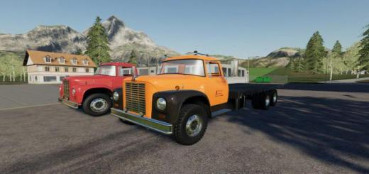 Photo of FS19 – Loadstar F1800 Flatbed V1