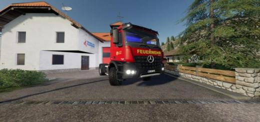 Photo of FS19 – Mercedes-Benz Fire Department Edition V1.1