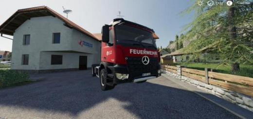 Photo of FS19 – Mercedes-Benz Fire Department Edition V1
