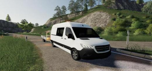 Photo of FS19 – Mercedes Benz Sprinter Vs30 V0.9 Beta