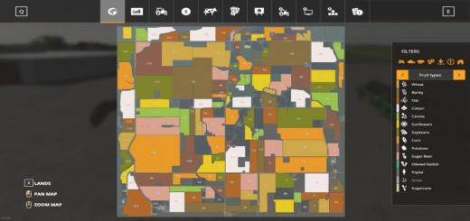 Photo of FS19 – Midwest Horizon Map V1.1