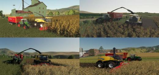 Photo of FS19 – Multi Harvest Headers V1