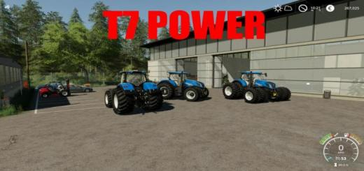 Photo of FS19 – Newhollande T7 Power V1