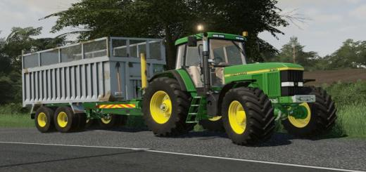 Photo of FS19 – Old Style Grain And Silage Trailer V1.0