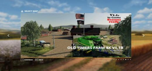 Photo of FS19 – Old Timers Farm Map V1.1C