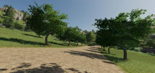Photo of FS19 – Placeable Fruit Trees V1