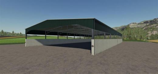 Photo of FS19 – Placeable Grain Storage V1