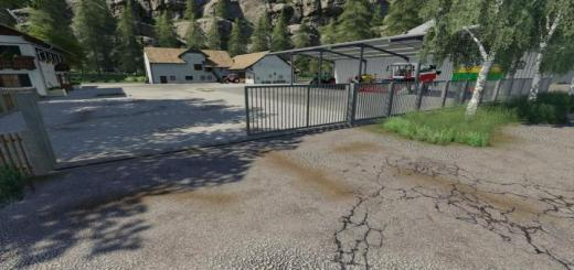 Photo of FS19 – Placeable Metal Gates And Fences V2