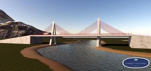Photo of FS19 – Placeable Prefab Bridge V1