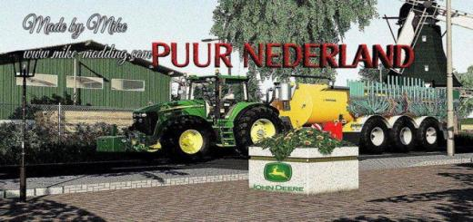 Photo of FS19 – Puur Nederland Map V2.1
