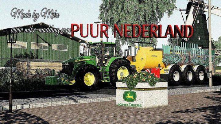 FS19 - Puur Nederland Map V2.1