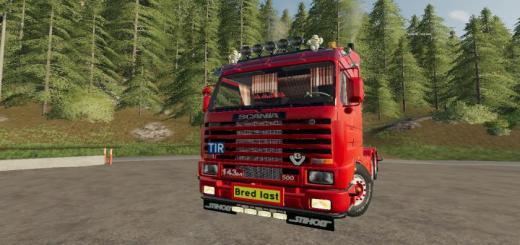 Photo of FS19 – Scania 143 6X4 Swedish Edit V1