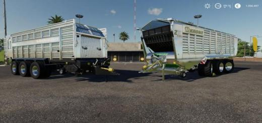 Photo of FS19 – Self-Loading Wagon Modpack Color / Chrome Edtion V1
