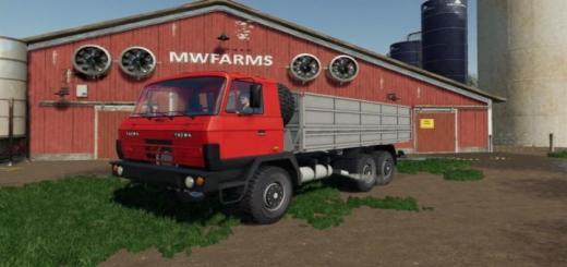 Photo of FS19 – Tatra 815 Agro & Modules V1.0