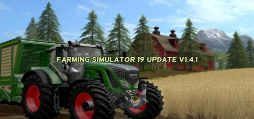 Photo of FS19 – Update V1.4.1