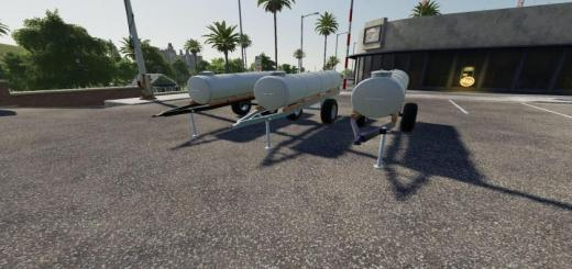 Photo of FS19 – Water And Milk Barrel V1.1