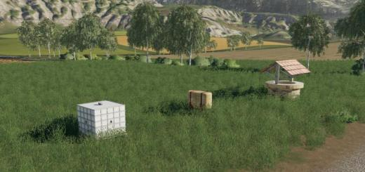 Photo of FS19 – Water Trigger Decoration Pack V1