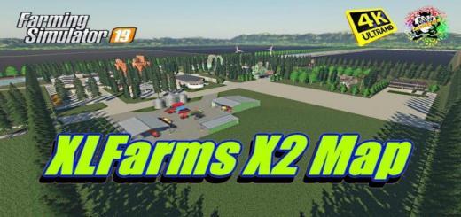 Photo of FS19 – Xlfarms X2 Map V2.0.0.1