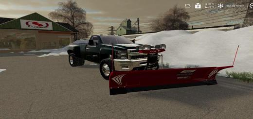 Photo of FS19 – 2010 Chevy 3500 Long Bed Drw With Plow Mount V1