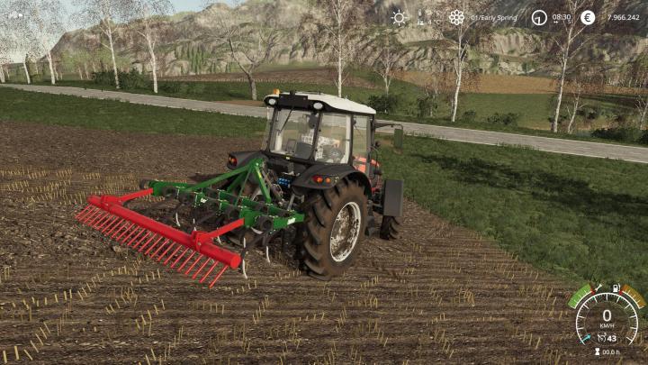 FS19 - Aguilar 11 Brazos Cultivator V1