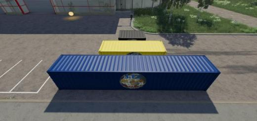 Photo of FS19 – Atc Container Pack V3.1