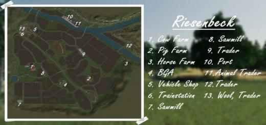 Photo of FS19 – Autodrive For Riesenbeck Map V1.02