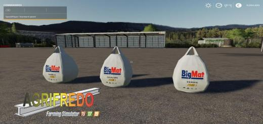 Photo of FS19 – Bigbags Tp Pack V1