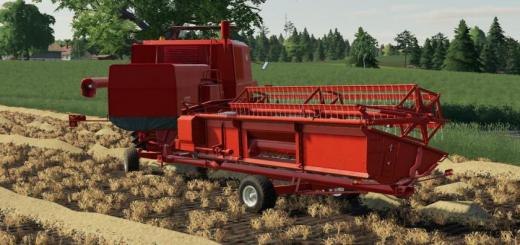 Photo of FS19 – Bizon Z056 Cutter Trailer V1