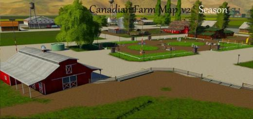 Photo of FS19 – Canadian Farm Map Season V2