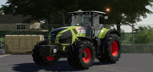 Photo of FS19 – Claas Axion 800-840 Tractor V0.9.9