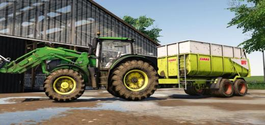 Photo of FS19 – Claas Carat Trailer V1