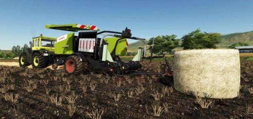 Photo of FS19 – Claas Rollant 455 Uniwrap Rc V1