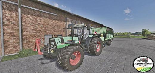 Photo of FS19 – Deutz-Fahr Agrostar 6.6 Tractor V1.1