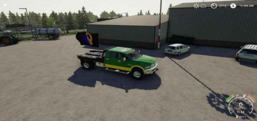 Photo of FS19 – Dodge Ram 3500 Snowplow Gp Edition V1