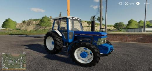 Photo of FS19 – Eire Agri Ford 7810 Tractor V1