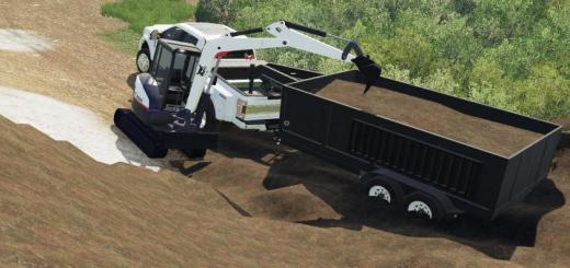 Photo of FS19 – Exp19 Dumptrailer And Kst Mini Ex V1